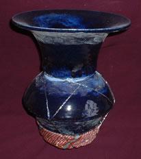 vase dark blue vase  .jpg (9761 bytes)